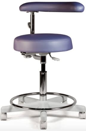 Crestone-Assistant-Stool-For-Dental-Office