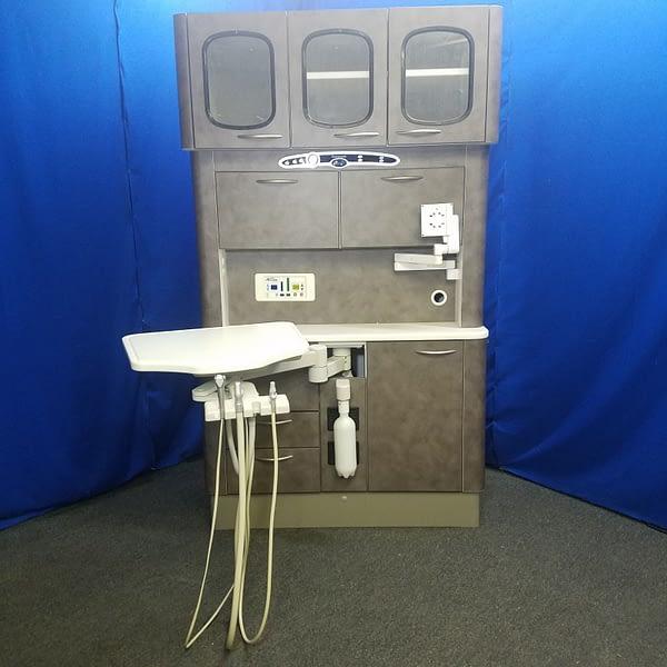 Pelton Crane Centennial 12 O'Clock Dental Cabinet