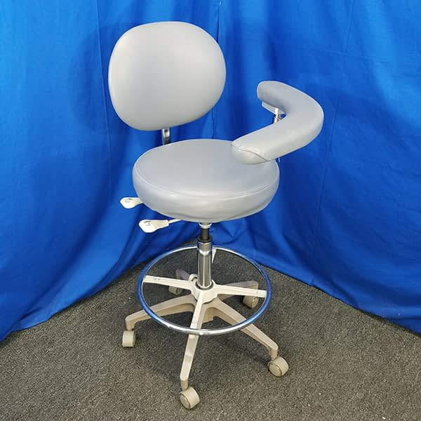 Westar Ultra Assistant Stool - side view