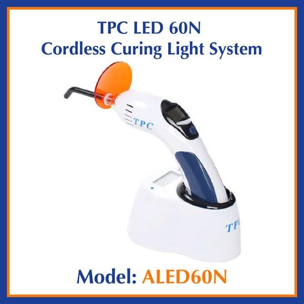 TPC Dental LED 60N Cordless Curing Light System ALED60N